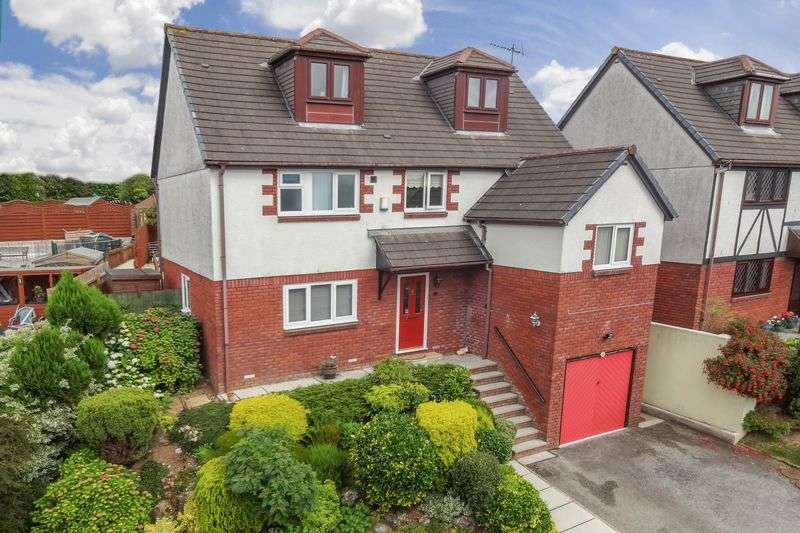 5 Bedrooms Detached House for sale in Barrow Down, Latchbrook