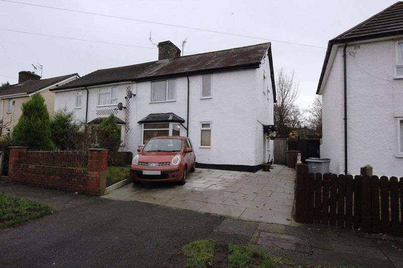 3 Bedrooms Semi Detached House for sale in Parkside Road, Bebington, Wirral