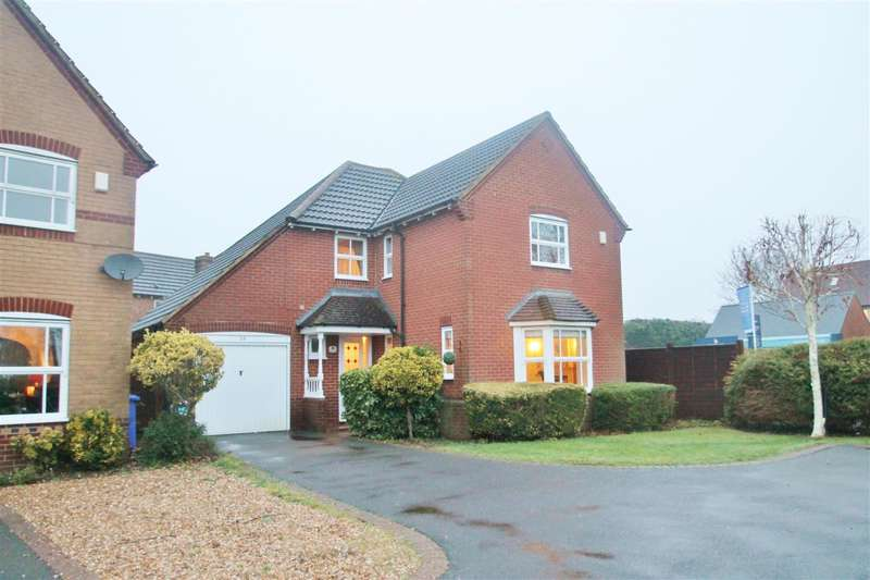 4 Bedrooms Detached House for sale in Nightingale Close, Brackley