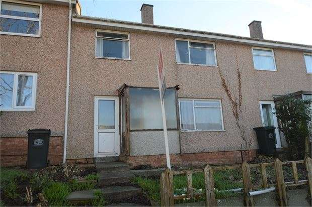 3 Bedrooms Terraced House for sale in Drake Road, Newton Abbot, Devon. TQ12 4HW
