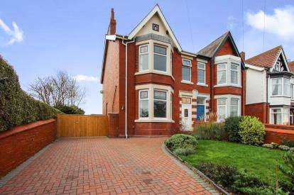 4 Bedrooms Semi Detached House for sale in Beach Avenue, Lytham St. Annes, Lancashire, England, FY8