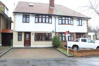4 Bedrooms Semi Detached House for sale in Ilford, Essex