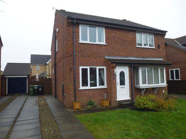 2 Bedrooms Semi Detached House for sale in Deer Hill Grove, Clifton Moor, York