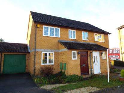 3 Bedrooms Semi Detached House for sale in Kestrel Way, Bicester, Oxfordshire