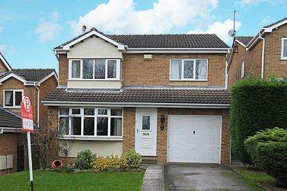 4 Bedrooms Detached House for sale in Stoneacre Avenue, Sheffield, South Yorkshire