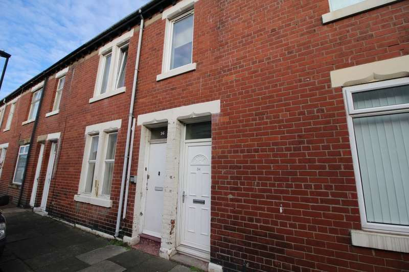 2 Bedrooms Flat for sale in Grey Street, Wallsend, NE28