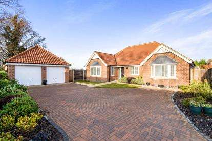 3 Bedrooms Bungalow for sale in School Close, Stickney, Boston, Lincolnshire