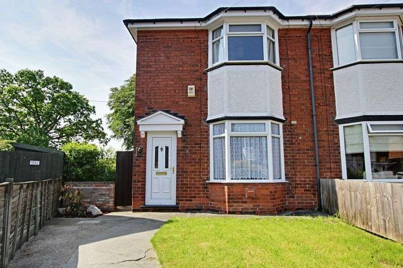 2 Bedrooms Semi Detached House for sale in Malvern Crescent, Hull