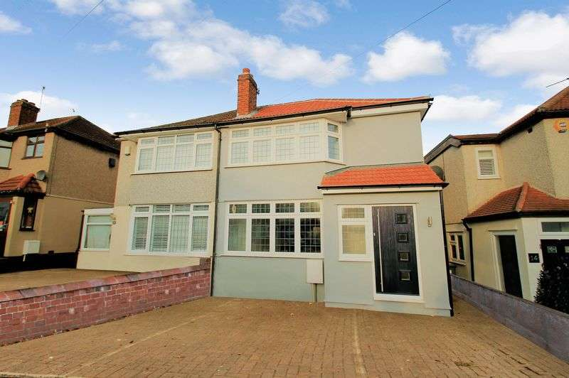 3 Bedrooms Semi Detached House for sale in Fairwater Avenue, Welling