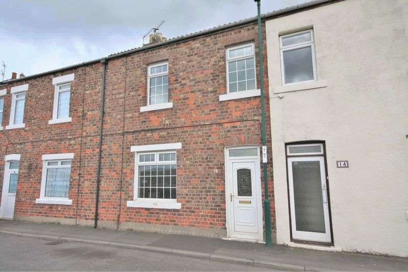 3 Bedrooms Terraced House for sale in St Hildas Terrace, Loftus