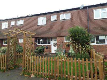 3 Bedrooms Terraced House for sale in Wheatcroft, Cheshunt, Waltham Cross, Hertfordshire