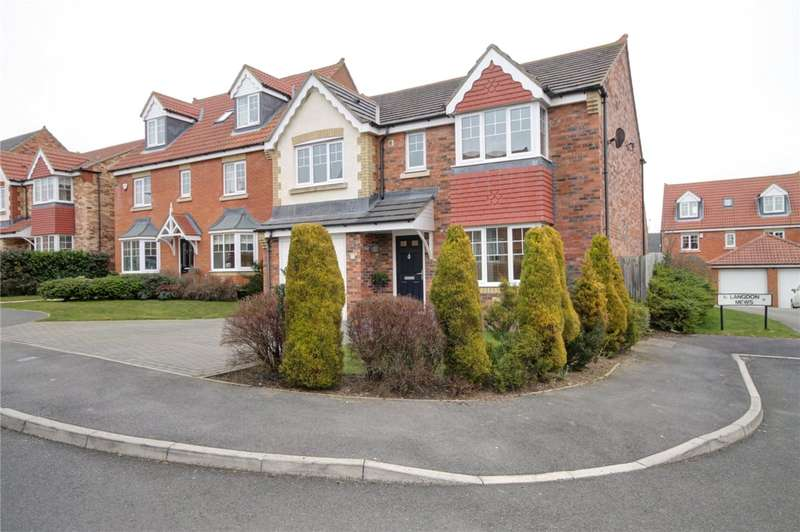 4 Bedrooms Detached House for sale in Langdon Mews, Templetown, Consett, DH8