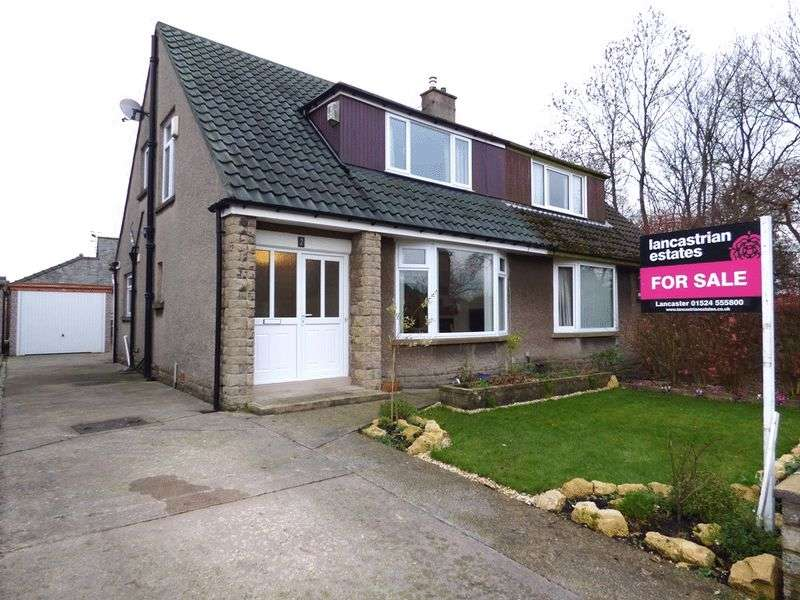 2 Bedrooms Semi Detached House for sale in Whinfell Drive, Lancaster