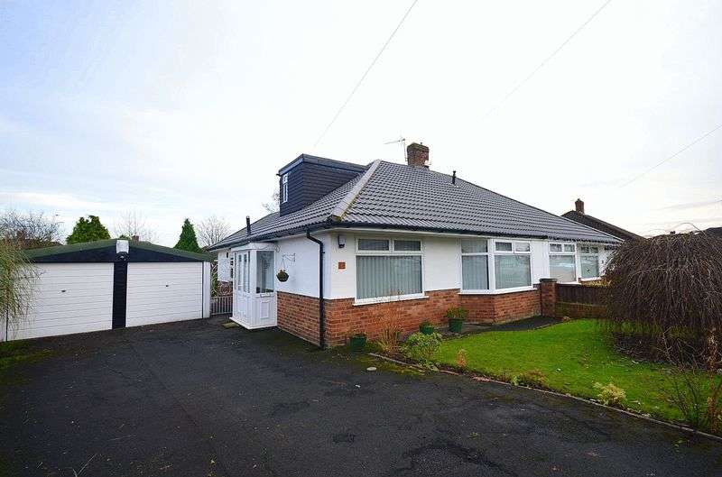 3 Bedrooms Semi Detached Bungalow for sale in Monica Road, Woolton