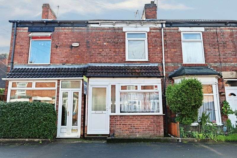 2 Bedrooms Terraced House for sale in Welbeck Street, Hull