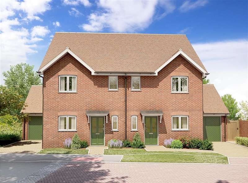 3 Bedrooms Semi Detached House for sale in Hop Pocket Way, Headcorn, Kent