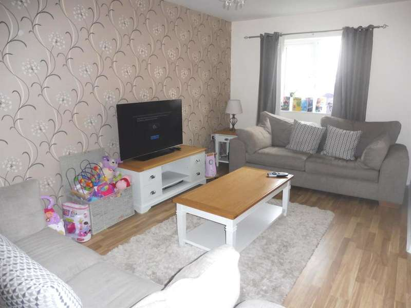 3 Bedrooms Semi Detached House for sale in Rhodfa'r Celyn, Coity, Bridgend