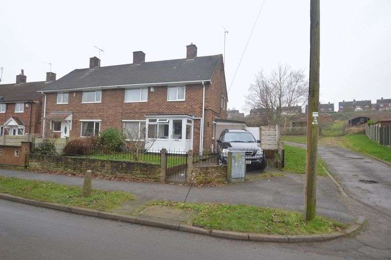 3 Bedrooms Semi Detached House for sale in Alder Way, Shirebrook