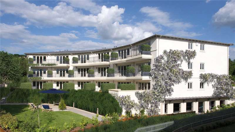 2 Bedrooms Flat for sale in Brunel Crescent, The Wharf, Box, Wiltshire, SN13