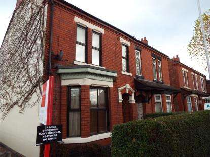 3 Bedrooms Semi Detached House for sale in North Street, Crewe, Cheshire