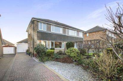 3 Bedrooms Semi Detached House for sale in Kirkstone Drive, Halifax, West Yorkshire, Halifax