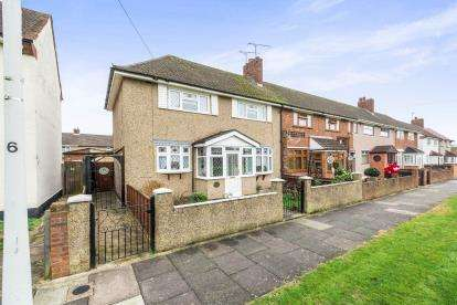 3 Bedrooms End Of Terrace House for sale in Romford, Havering, Essex