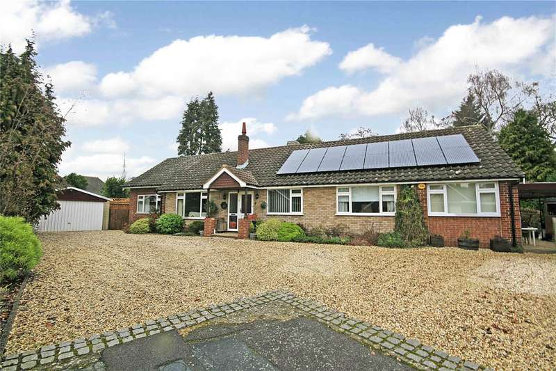 5 Bedrooms Detached Bungalow for sale in Willow Way, West Byfleet, Surrey, KT14