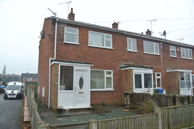 3 Bedrooms Terraced House for sale in Parkstone Avenue, Rainworth