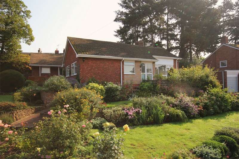 3 Bedrooms Detached Bungalow for sale in St Moritz Close, Northwick, Worcester