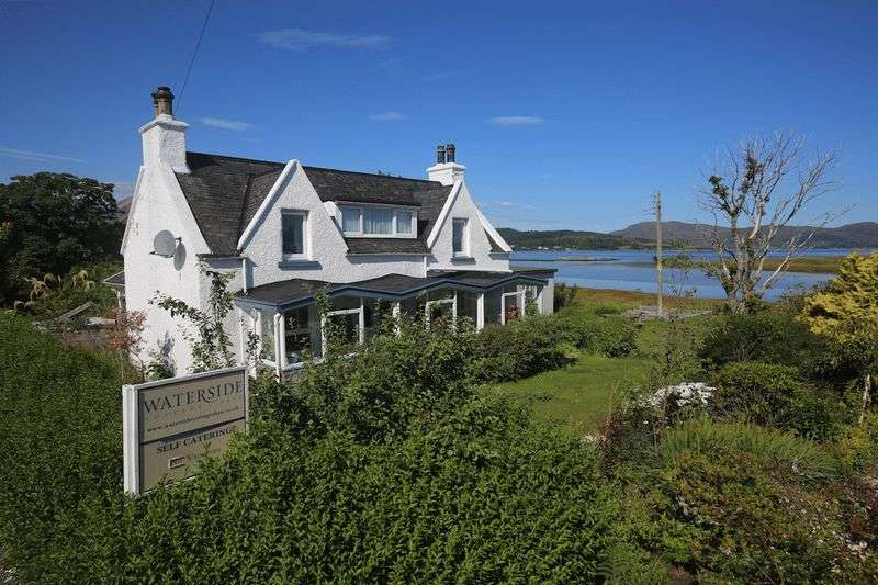 4 Bedrooms Cottage House for sale in AILEAN COTTAGE: 4 beds, 1 en-suite, shoreside property, S Skye