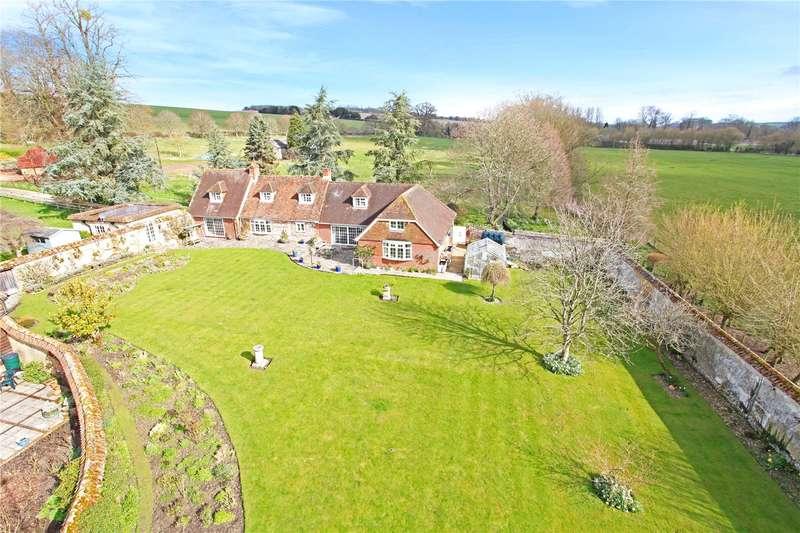 5 Bedrooms Detached House for sale in North Houghton, Stockbridge, Hampshire, SO20