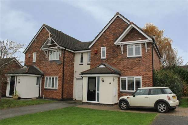 3 Bedrooms Link Detached House for sale in Deacons Close, Croft, Warrington, Cheshire