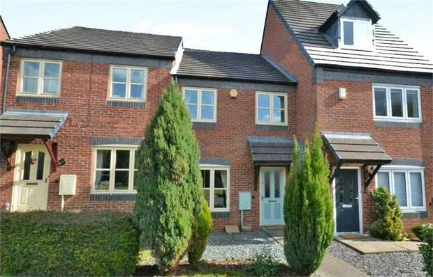 3 Bedrooms Terraced House for sale in Colridge Court, Donnington, Telford, Shropshire