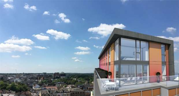 2 Bedrooms Flat for sale in Penthouses at The Chocolate Box, Christchurch Road, BOURNEMOUTH