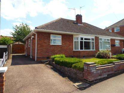 2 Bedrooms Bungalow for sale in Avondale Road, Wigston, Leicester, Leicestershire