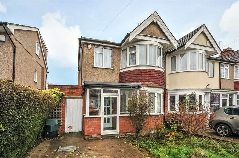 3 Bedrooms End Of Terrace House for sale in Ravenswood Crescent, Harrow, Middlesex, HA2