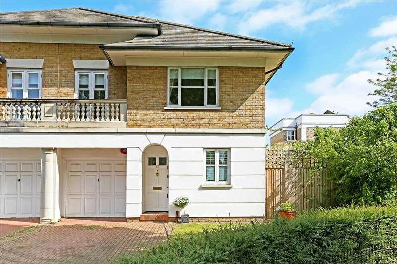 3 Bedrooms Semi Detached House for sale in Burlington Lane, London, W4