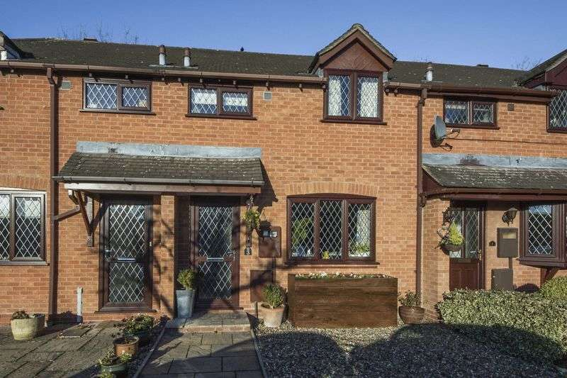3 Bedrooms Terraced House for sale in Fieldhouse Close, Henley-In-Arden