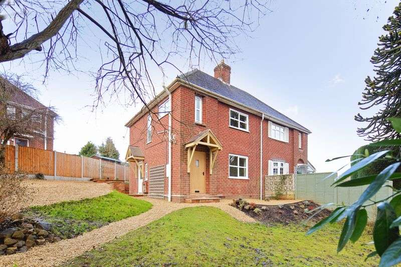 3 Bedrooms Semi Detached House for sale in Coronation Crescent, Madeley