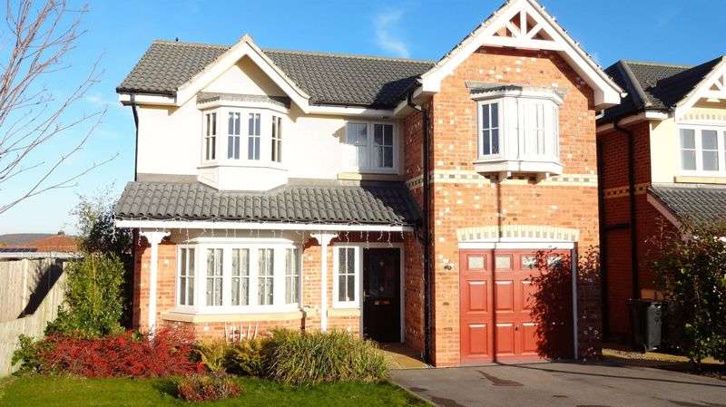 4 Bedrooms Detached House for sale in Montgomery Close, Rotherham