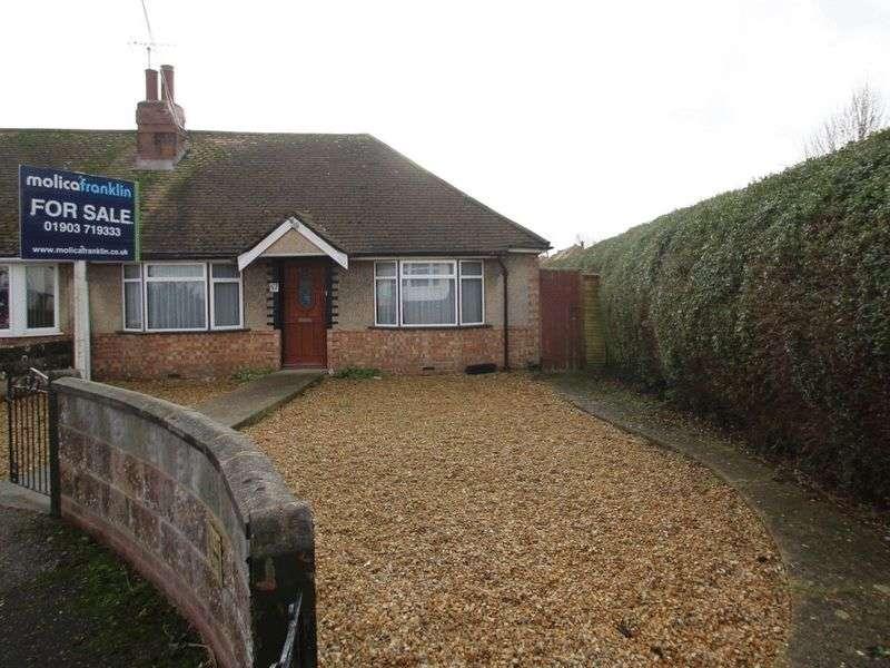3 Bedrooms Semi Detached Bungalow for sale in Grand Avenue, Littlehampton
