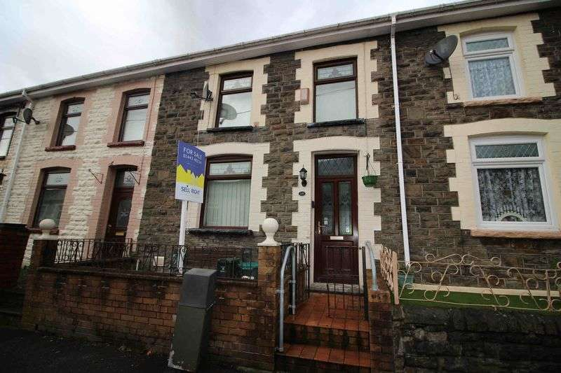 3 Bedrooms Terraced House for sale in Deri Terrace, Ferndale