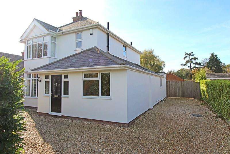 4 Bedrooms Detached House for sale in Wootton Road, Tiptoe, LYMINGTON