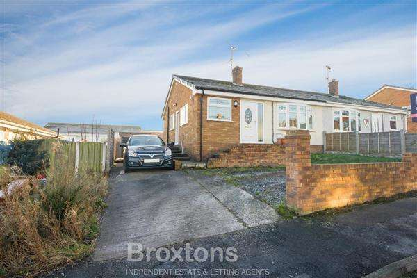 2 Bedrooms Semi Detached Bungalow for sale in Cadnant Drive, Bagillt