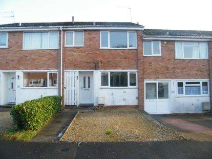 3 Bedrooms Terraced House for sale in Greenside, Stoke Prior, Bromsgrove