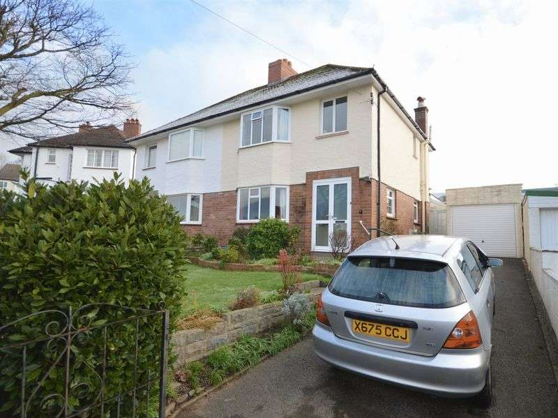 3 Bedrooms Semi Detached House for sale in Holywell Crescent, Abergavenny