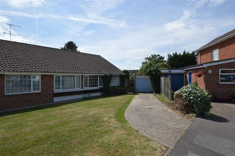 2 Bedrooms Semi Detached Bungalow for sale in Kendal Avenue, Shinfield, Reading, RG2
