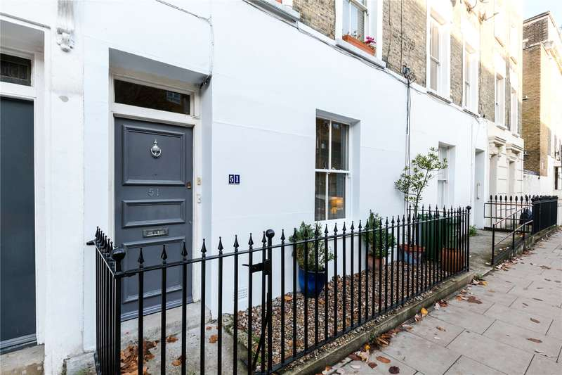 4 Bedrooms Terraced House for sale in Pratt Street, London, NW1