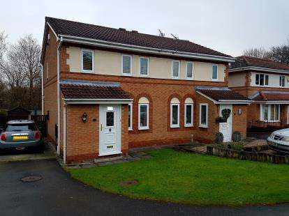 3 Bedrooms Semi Detached House for sale in Buckthorn Close, Timperley, Altrincham, Greater Manchester