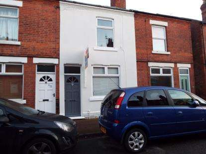 2 Bedrooms Terraced House for sale in Gladstone Street, Beeston, Nottingham, .